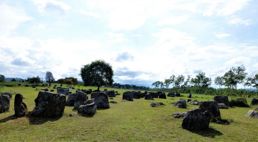 De velden met kruiken - Phonsavan