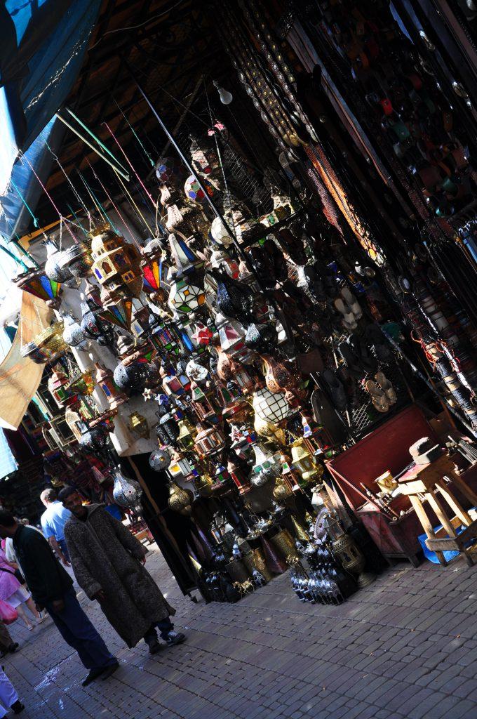 De lampen van Marokko