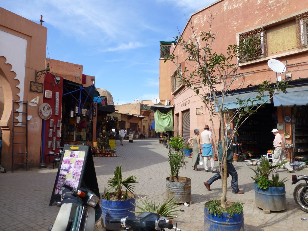 Souks van Marrakesh