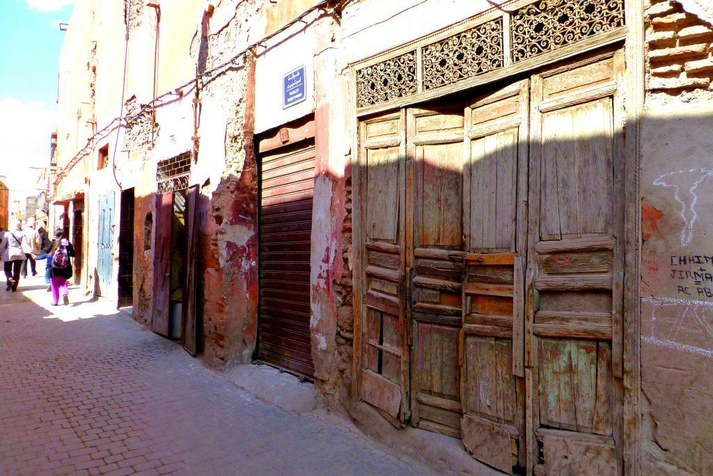 Biking in the Old Medina Of Marrakesh, Morocco - Visit the Souks of Marrakesh