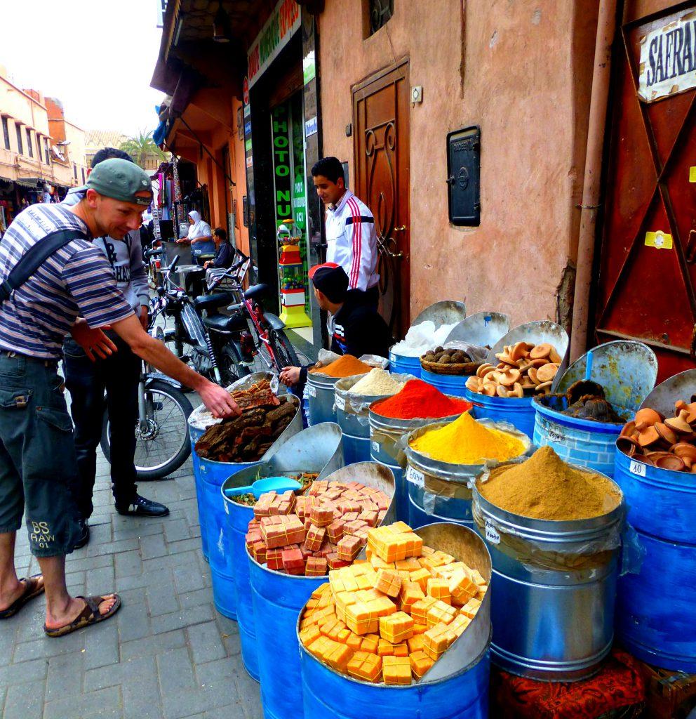 Visit the Souks of Marrakesh