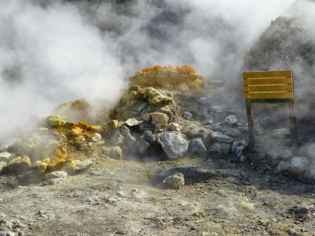 De Flegreische gronden.. Pozzuoli - Napels, Italië