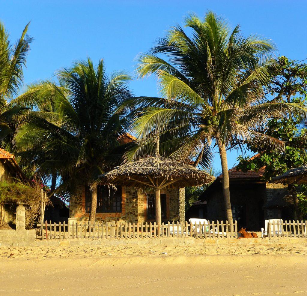 Right on the beach, Mui Ne, Vietnam