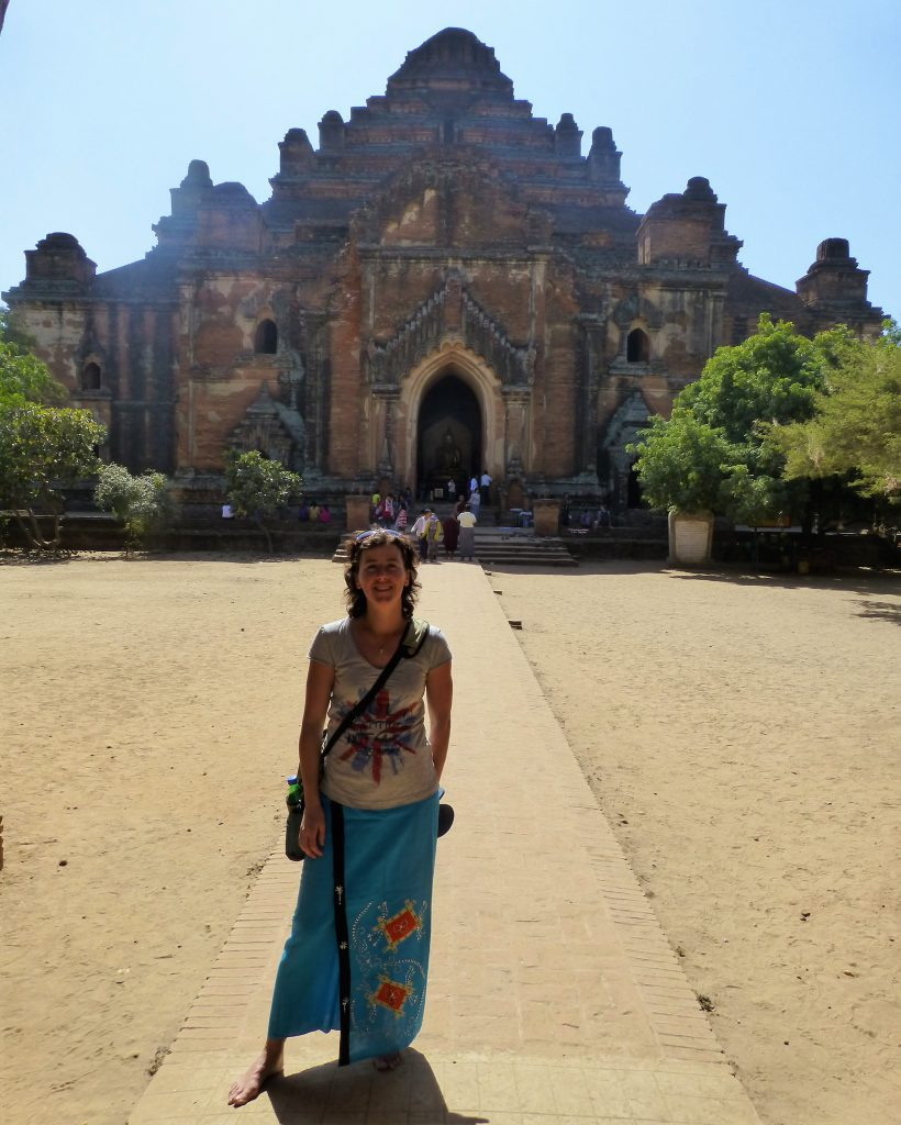 Dhammayan Gyi = the thickest - Bagan, Myanmar