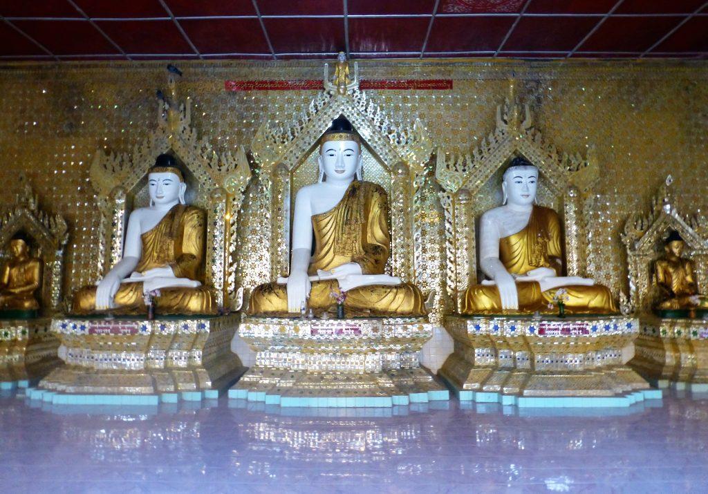 Visit the Shwe Moke Htaw Pagoda (Shwemokthaw pagoda) in Pathein.