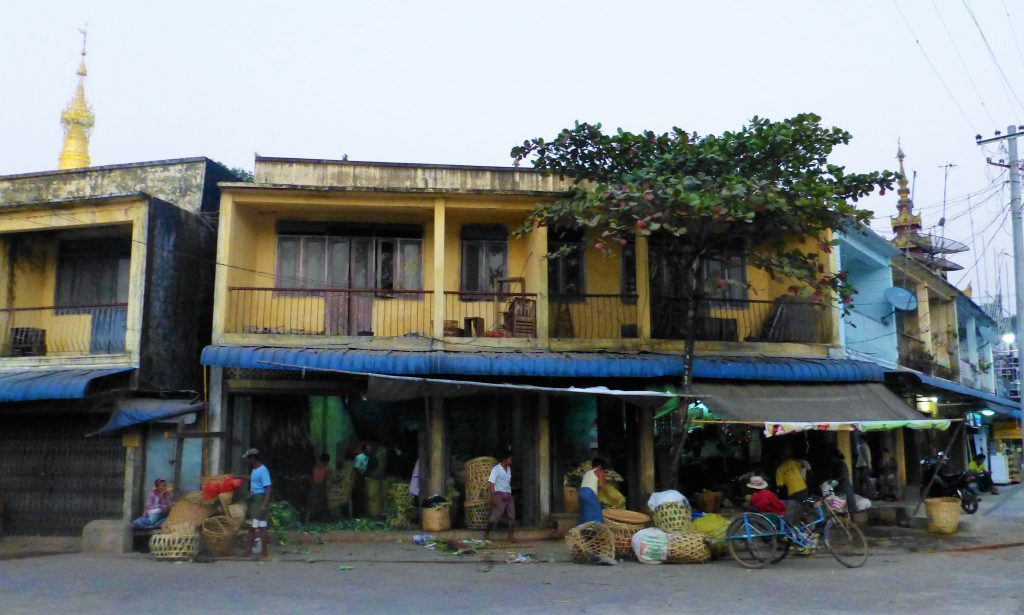 Streets of Pathein, Myanmar