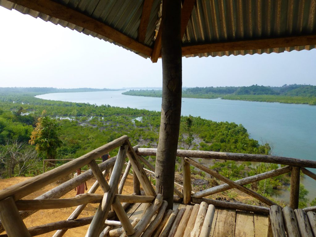 Viewing Point near Chaung Tha, Myanmar