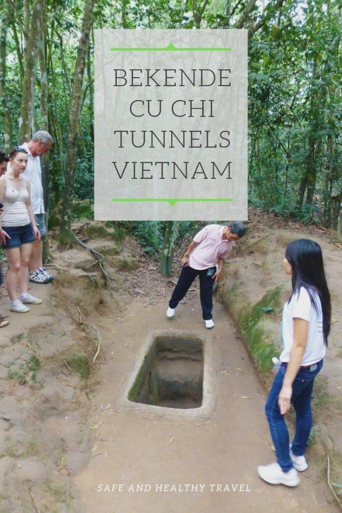De bekende Cu Chi Tunnels