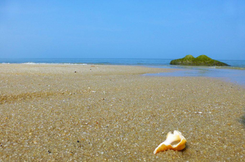 Strand van Nationaal Park Pulau Penang, Maleisie
