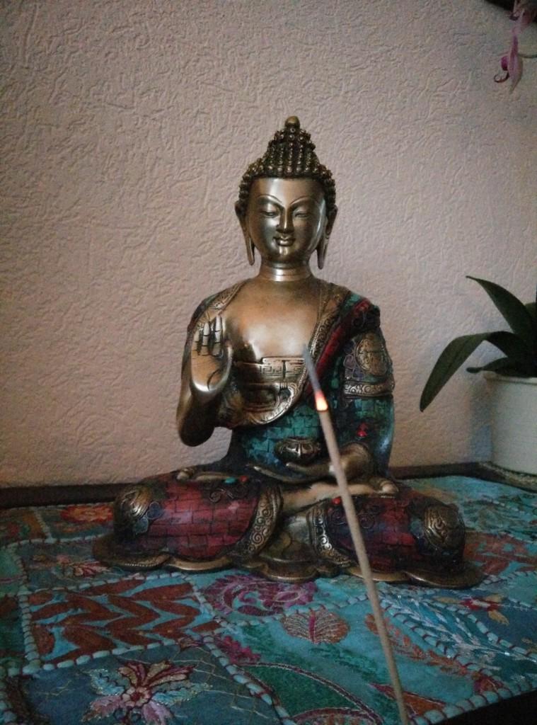 Buddha on its place