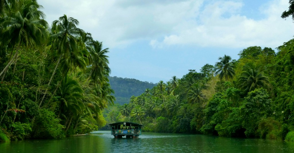 Daytrip on Bohol, Loboc River