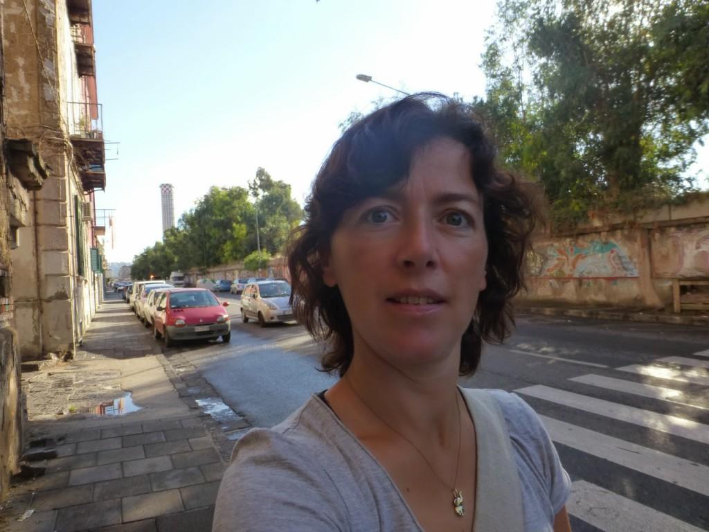 Lopen in Pozzuoli - Napels, Italië