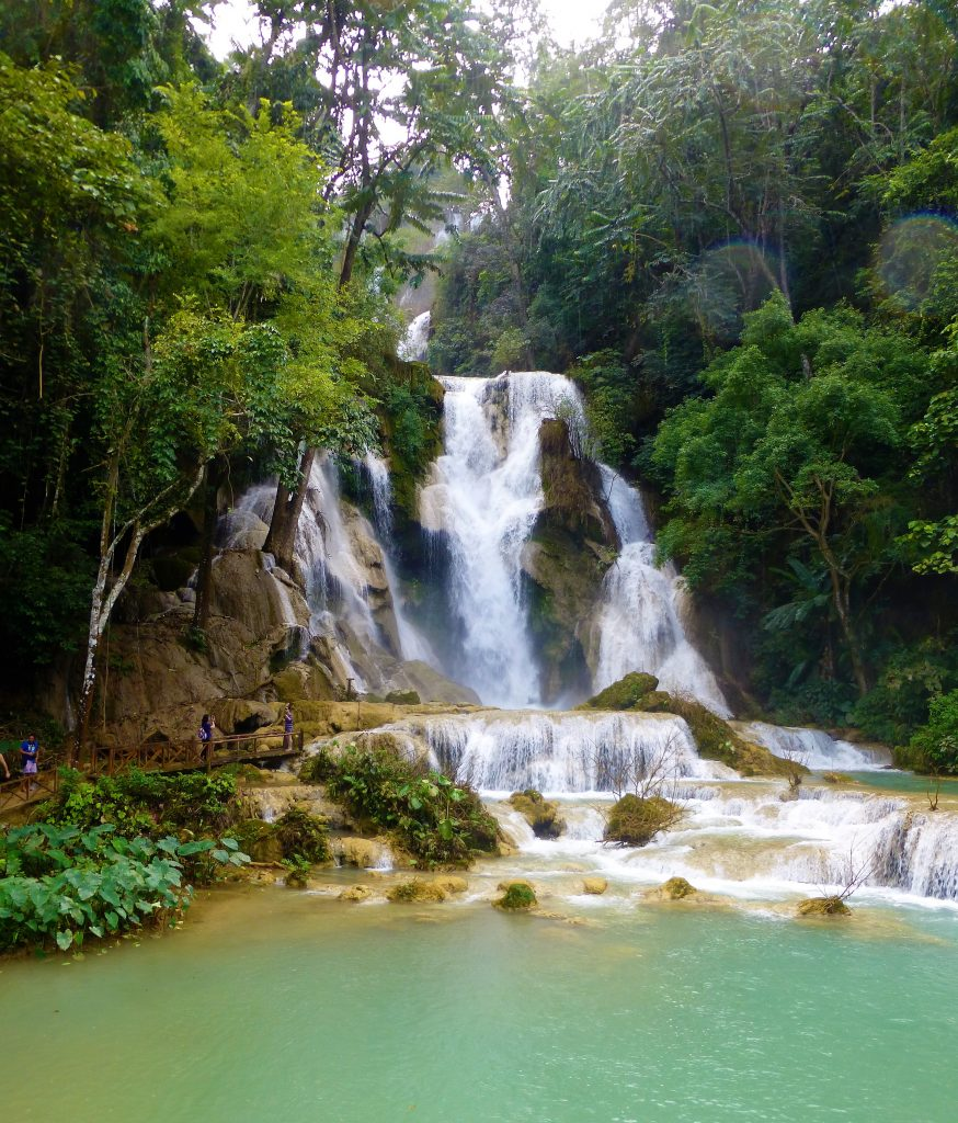 Kuang Si Waterfall near Luang Prabang