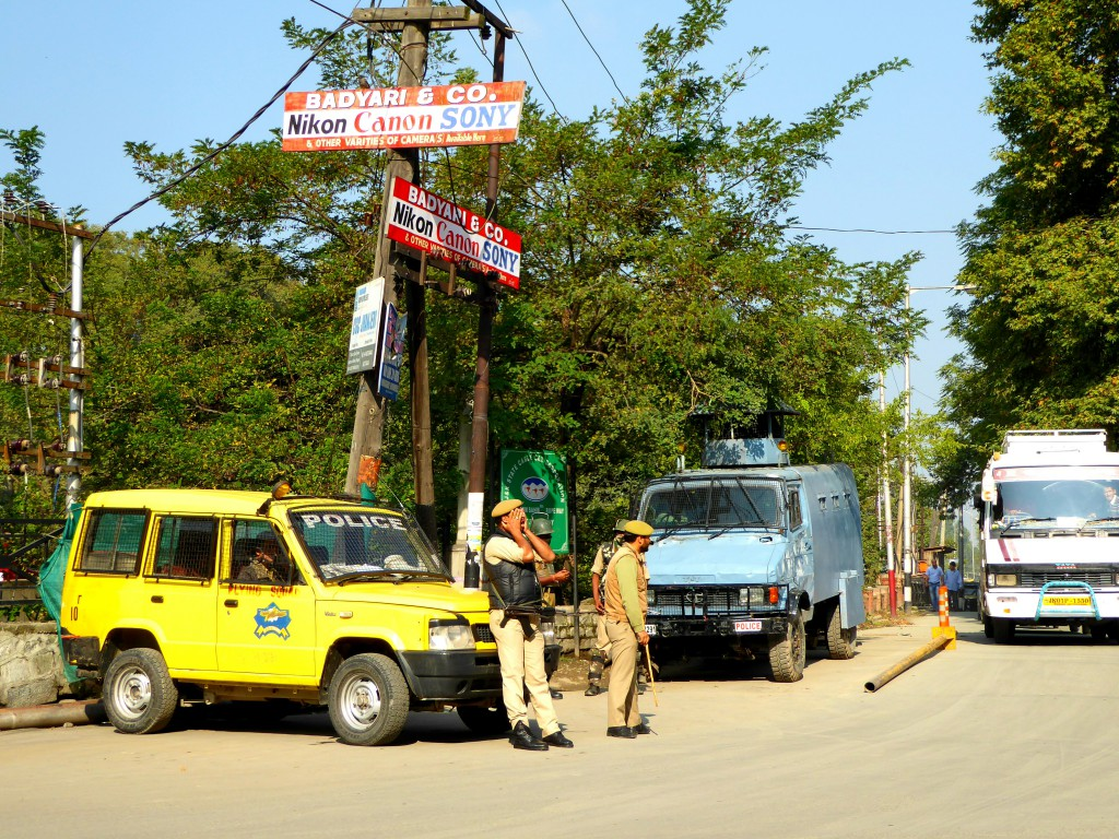 Police or Army Post / Safe Travel