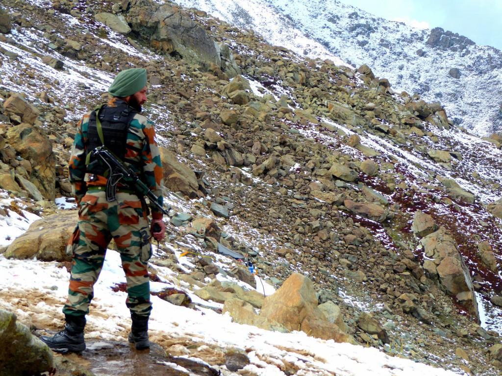 Sikh Army Man / Safe Travel