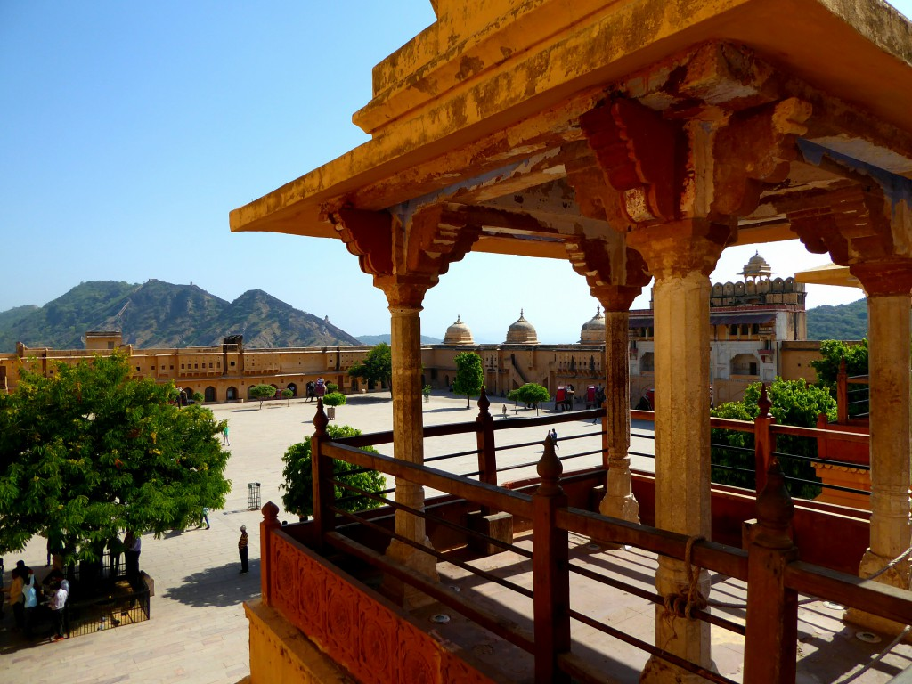Square Amber Fort - 2 week Travel Itinerary Rajasthan - India
