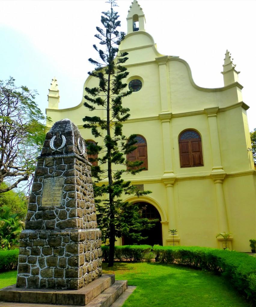 Hoogtepunten Kochi - St Francis kerk