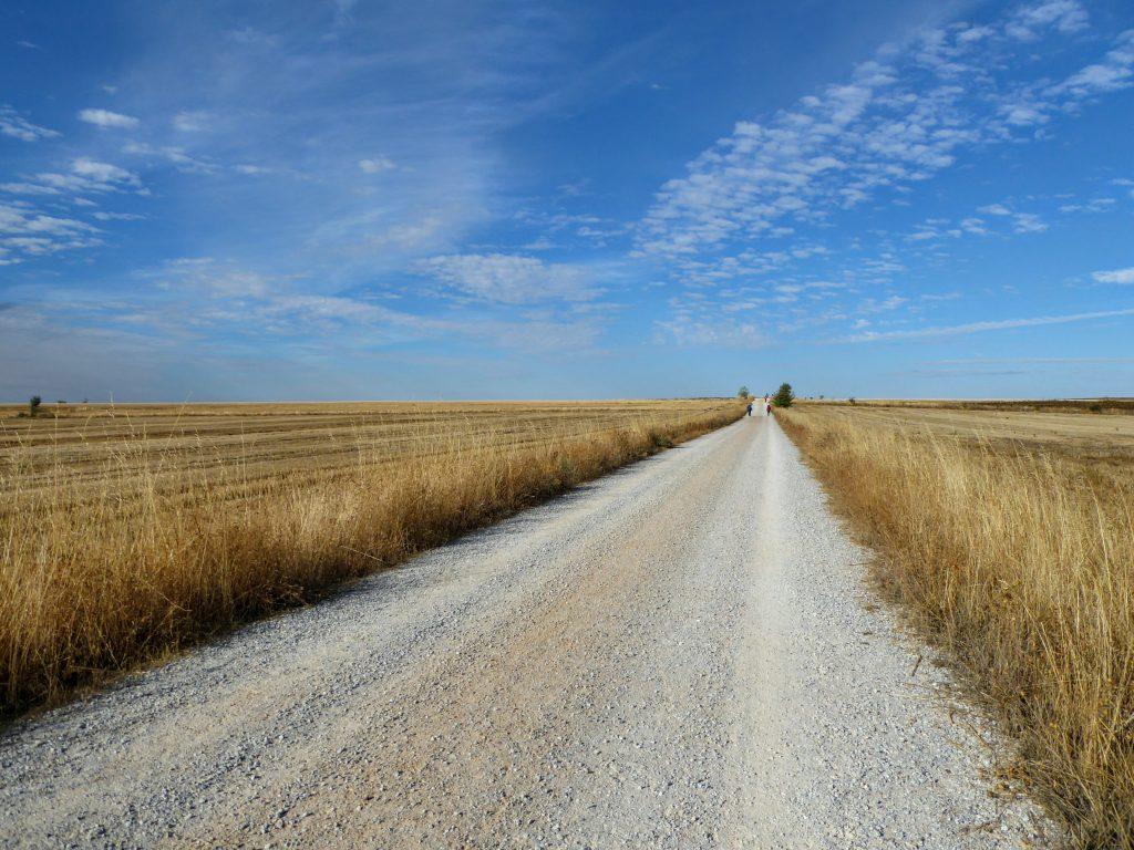 De lange pelgrimsroute - Spanje