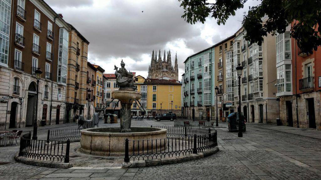 Burgos - Spanje Pelgrimsroute st jacobsweg