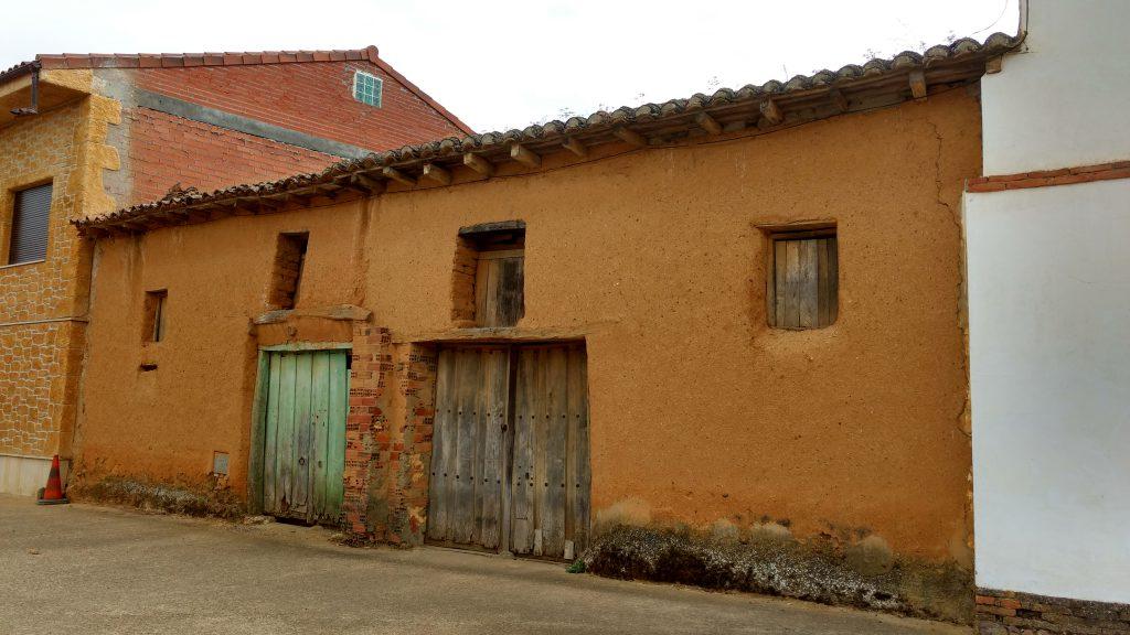 op de pelgrimsroute - El Burgo Ranero - Spanje