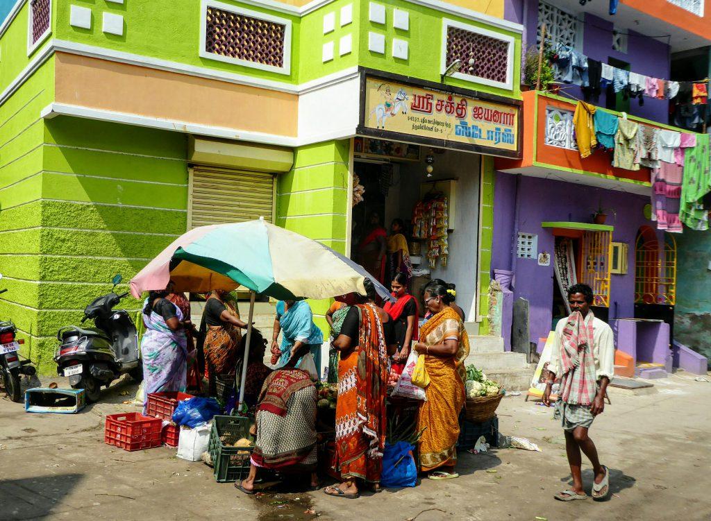 Colourful Street Chennai