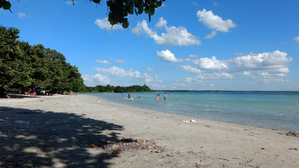 Cuba, Beach at Playa Larga