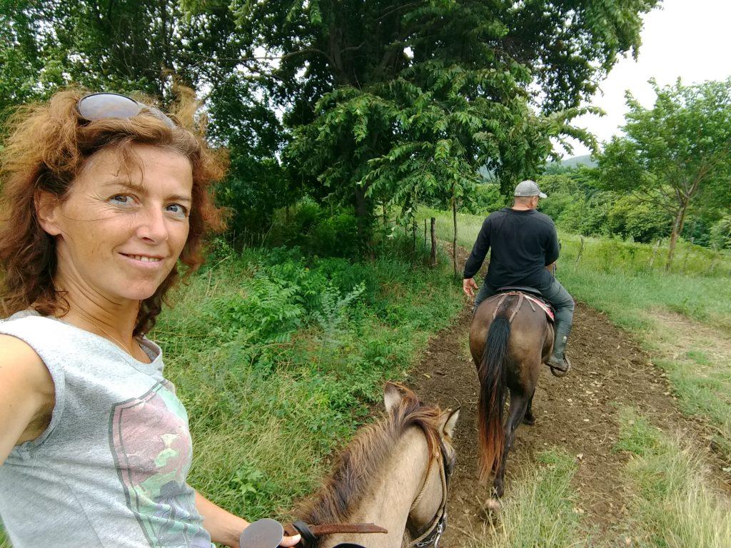 Paardrijden in Valle de los Ingenios