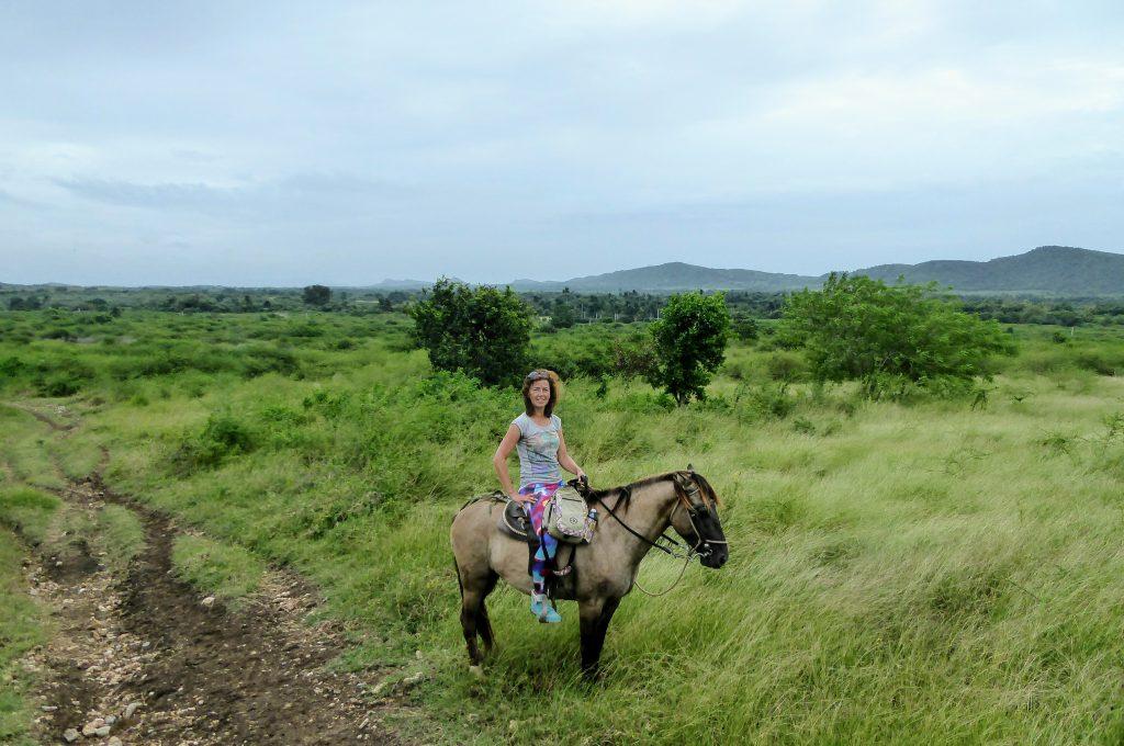 Paardrijden in Topes de Collantes - Trinidad