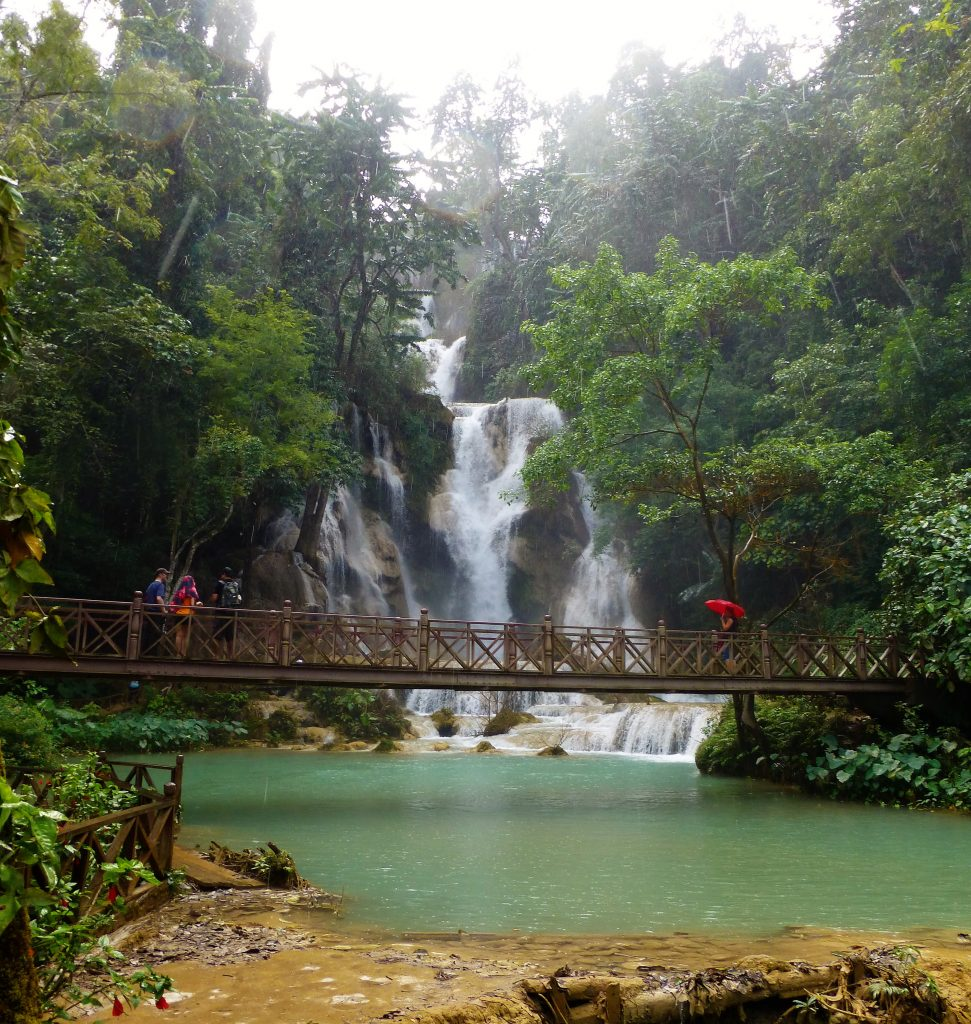 Kuang Si Waterval - Luang Prabang Laos