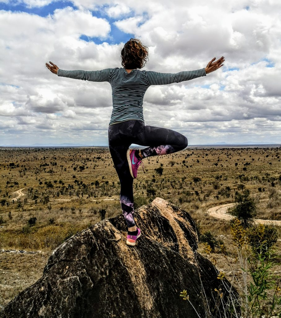 Yoga in Kenya