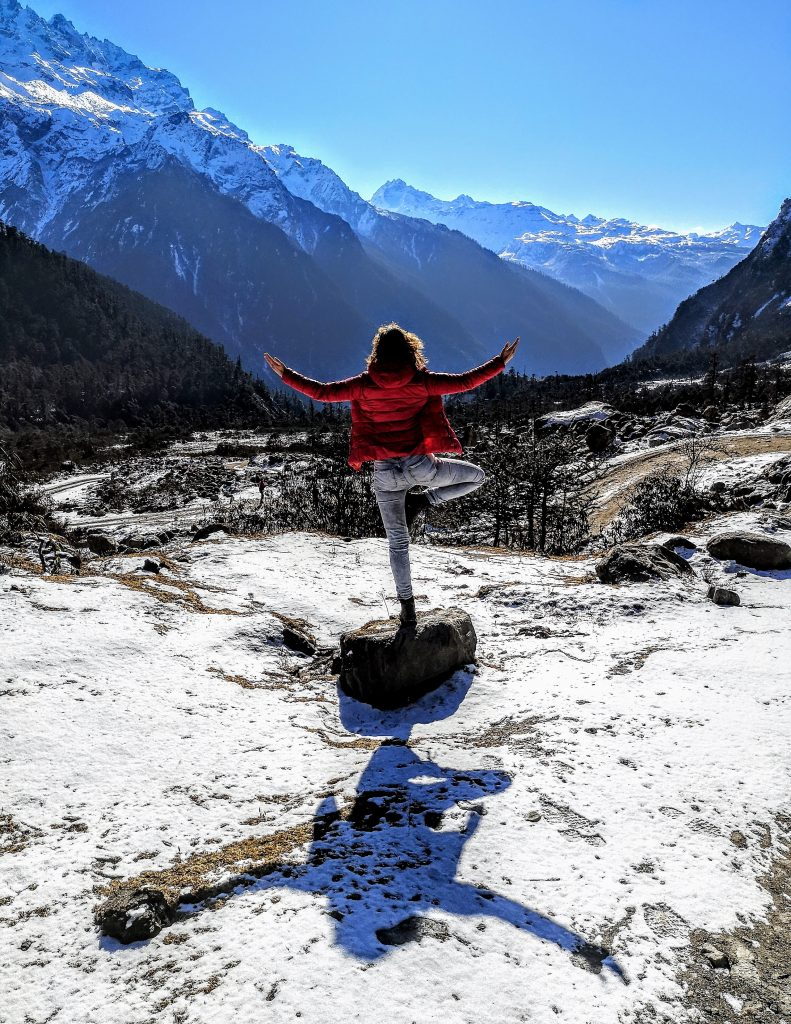 Yoga in Sikkim