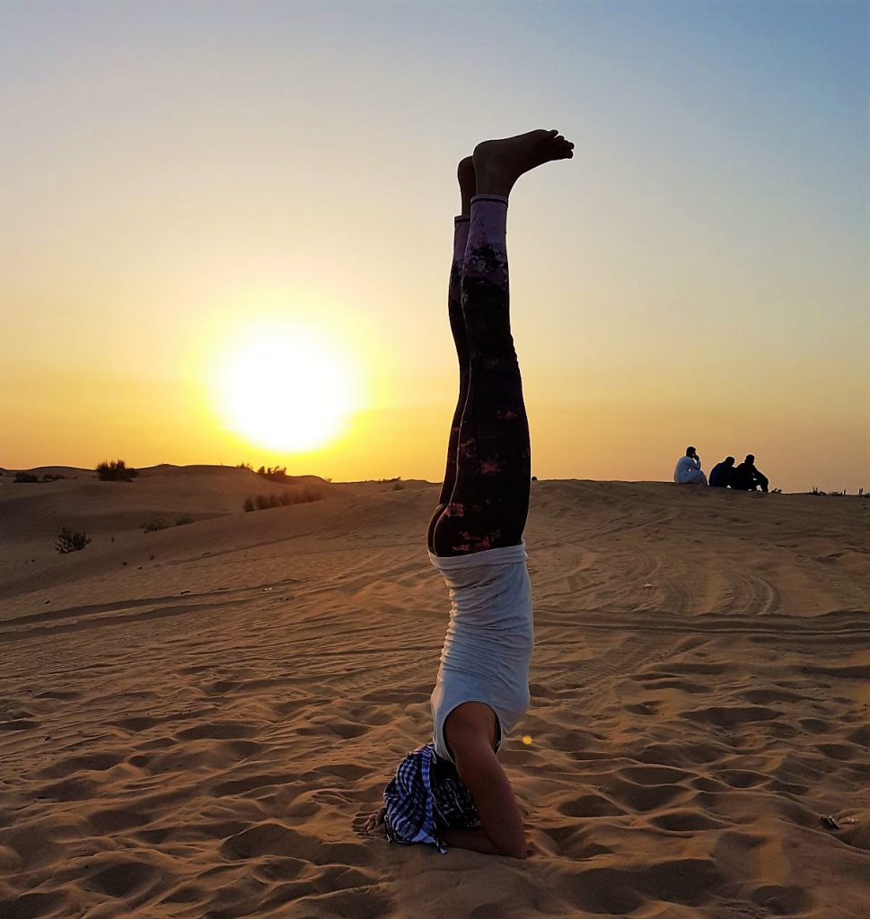 Yoga in the UAE