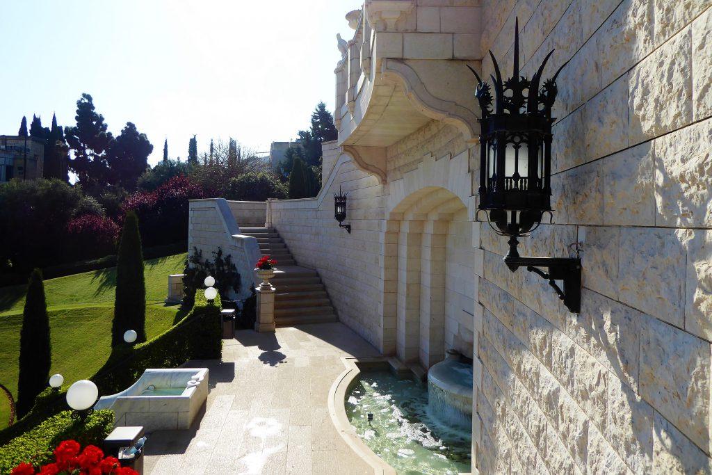Bahai tuinen - Haifa, Israel