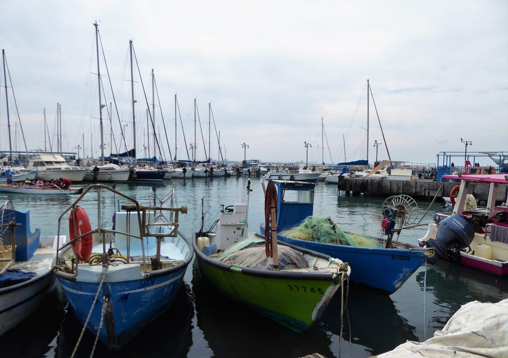 Old harbour of Acre - Israel