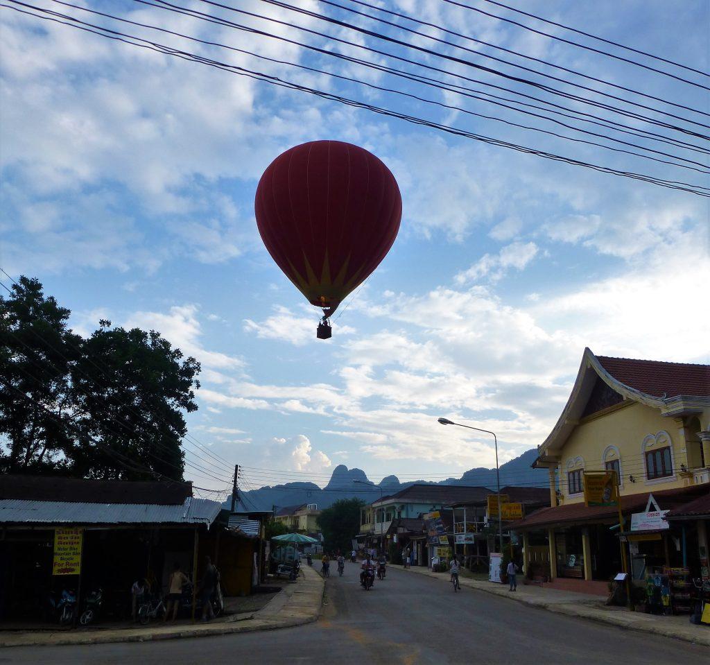 Ballonvaart Vang Vieng Laos