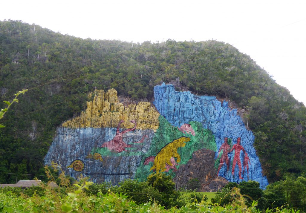 Mural de Prehistorica near the Viñales Valley - Cuba