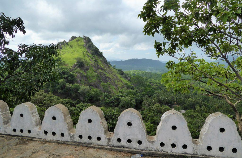 View at Golden Temple - Dambulla Sri Lanka