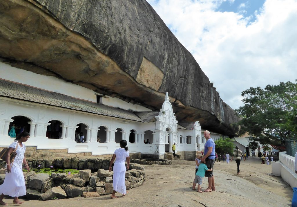 Cave Temple at Dambulla - Sri Lanka