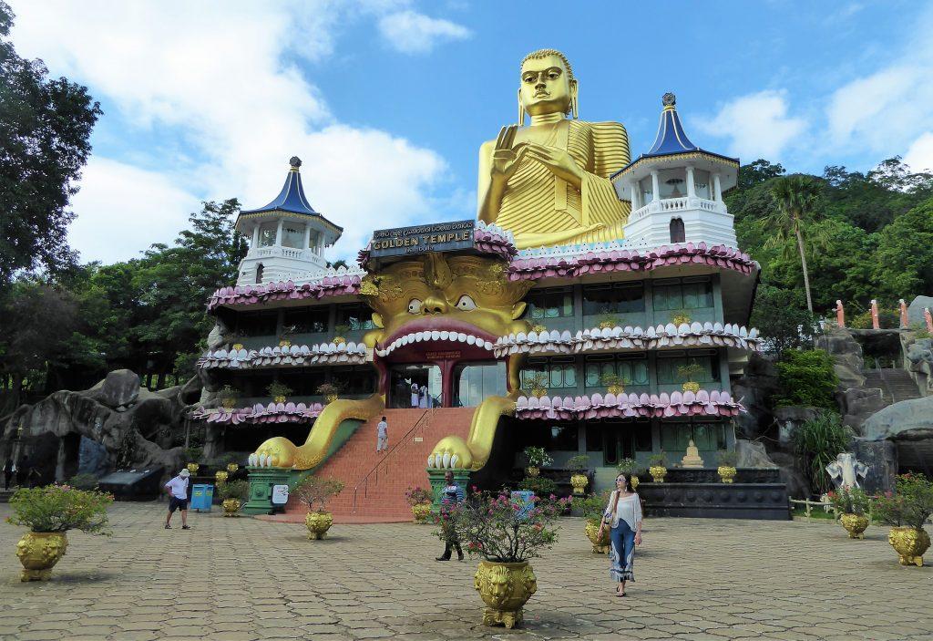 Gouden Tempel - Dambulla, Sri Lanka