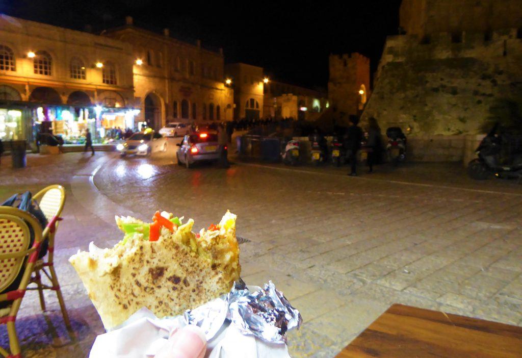 Falafel in Jerusalem - Israel