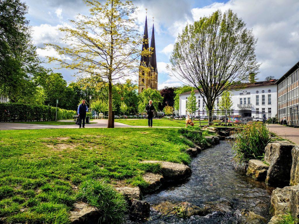 Hiking in Germany - Bielefeld