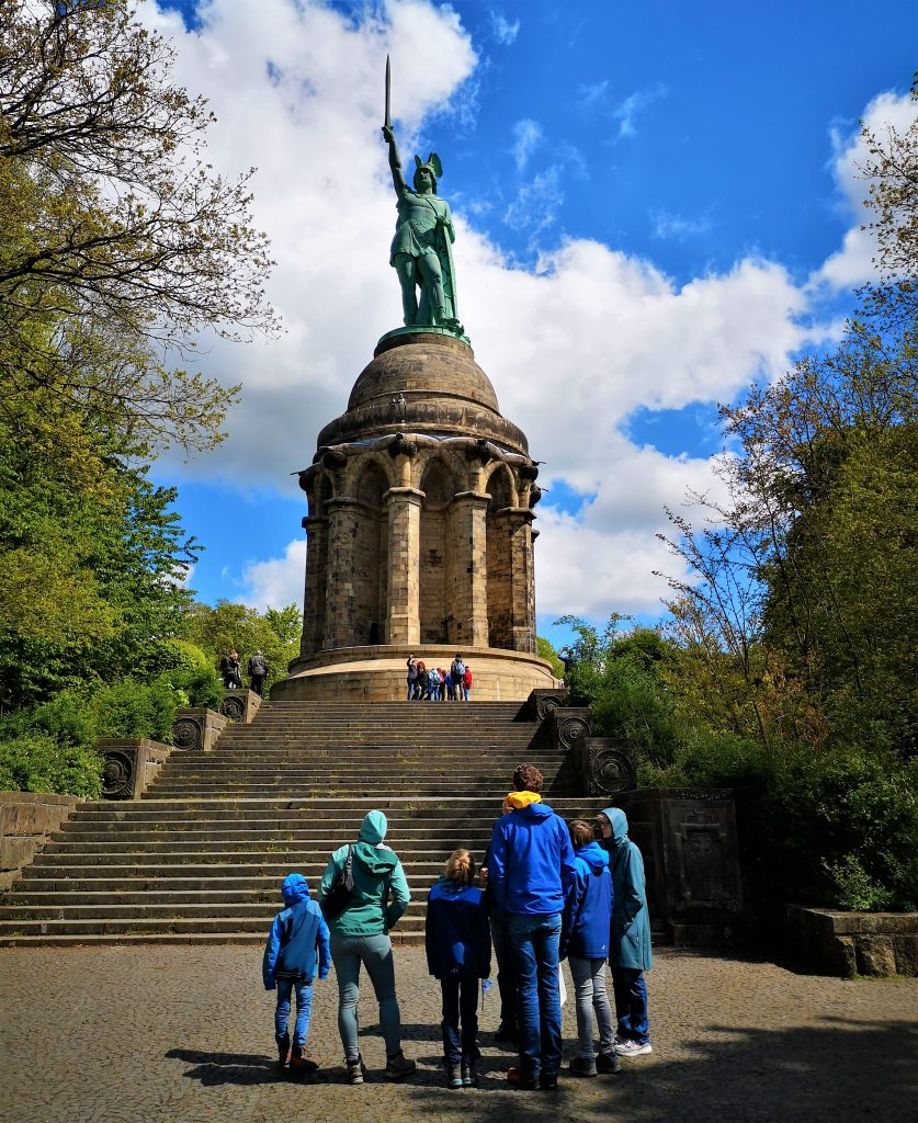 Hiking in Germany - Hermannsdenkmal