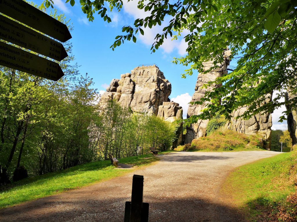 Hiking in Germany - Externsteine - Horn, Bad - Meinberg