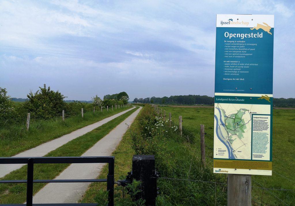 Wandelen langs de IJssel