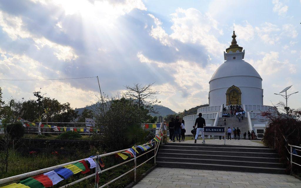 Peace Pagoda - Pokhara, Nepal