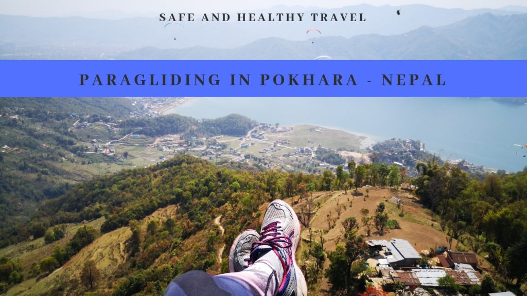 Een dag in Pokhara moet ook bestaan uit paragliden