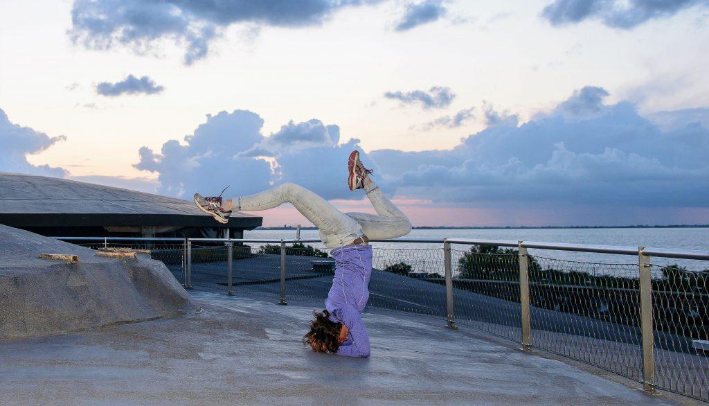 Yoga op Pampus