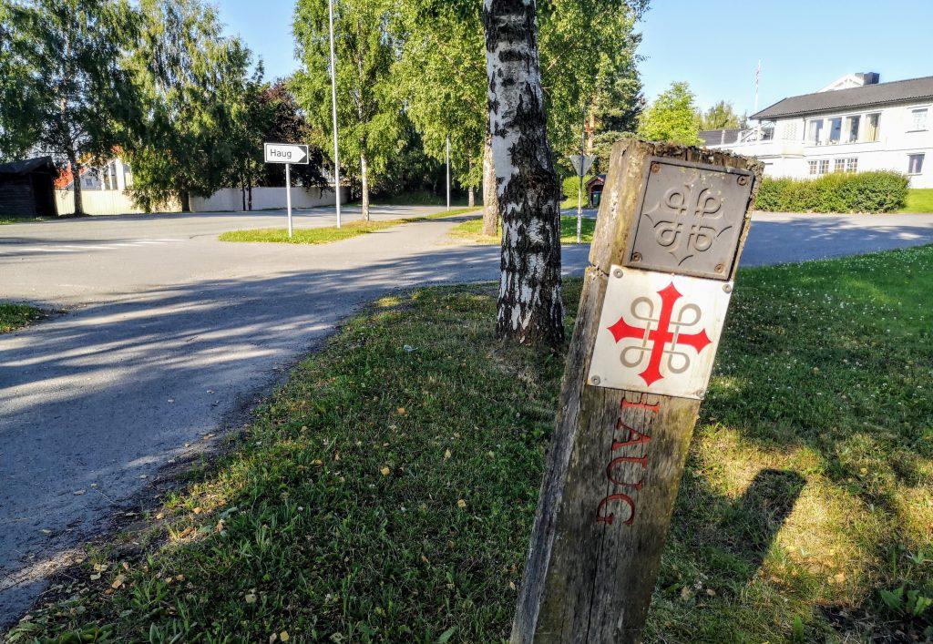 Pilgrim path St Olavsleden