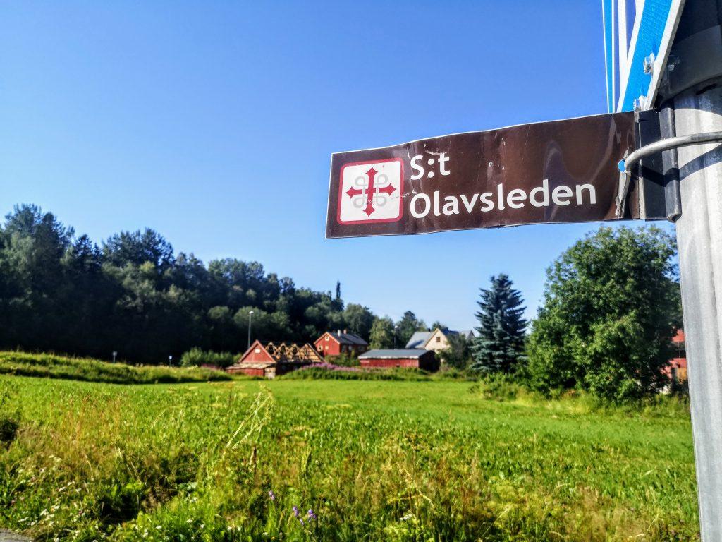 Follow the signs on s:t Olavsleden