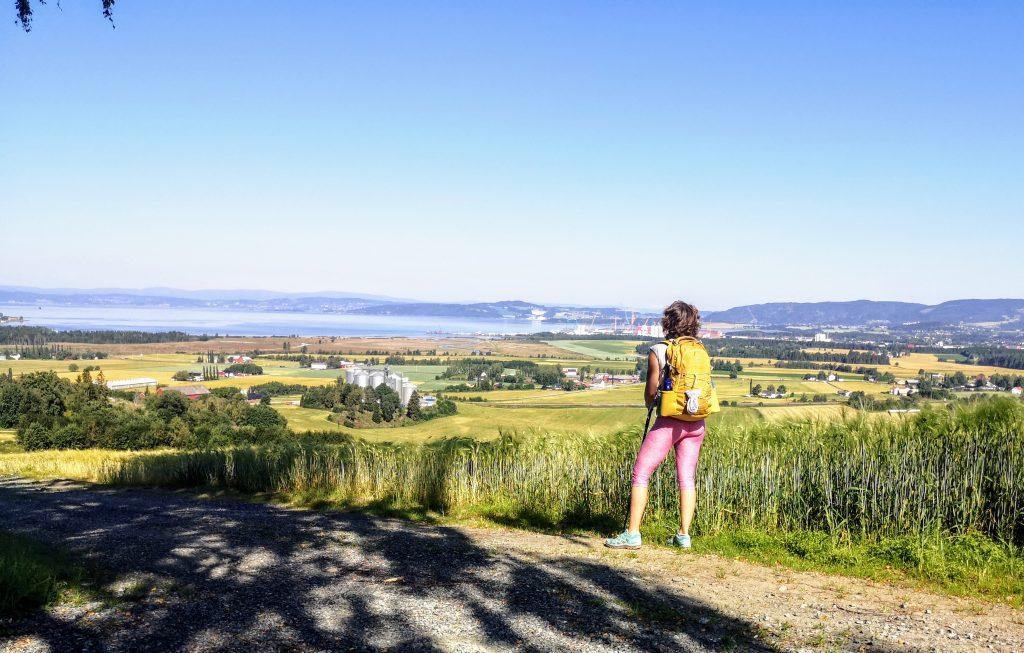 As a pilgrim on the path St Olavsleden - Norway